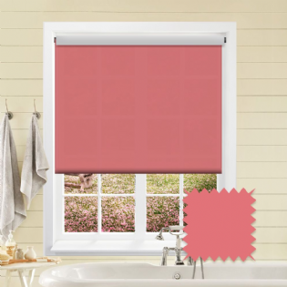Pink Roller Blind - Astral Flamingo